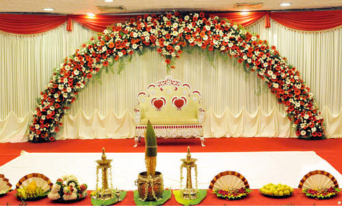 Flower Decoration Wedding Flower Decoration Service Provider From