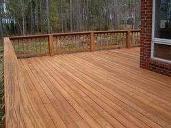 Wood Deck Floor