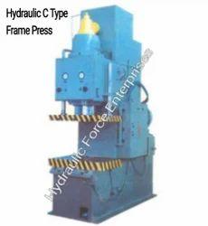 Hydraulic  C Frama Press Type