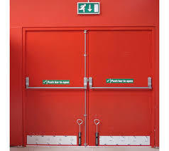 Double Shutter Fire Door