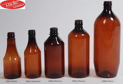 Pharma Brown PET Bottle