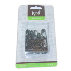 Jyoti Safety Pin - Black - Assorted