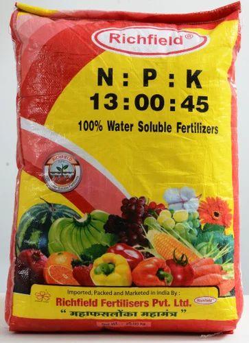 Richfield Fertigation Grades Potassium Nitrate Wholesale