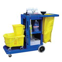 Continental Janitor Cart