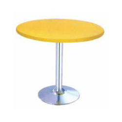 Yellow Cafeteria Table