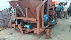 16 Bricks, Semi Auto Brick Making Machine