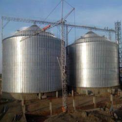 Galvanized Industrial Silos