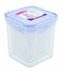 Plastic Locked Airtight Square Container Set