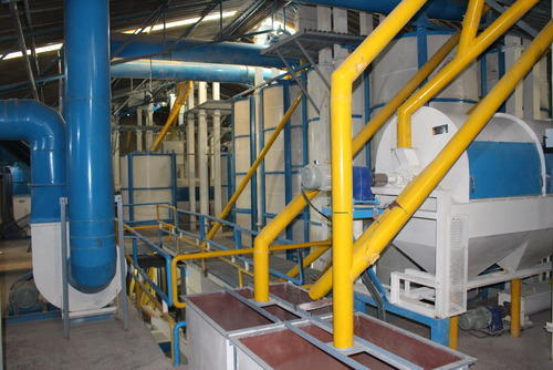Yellow Dal Processing Plant