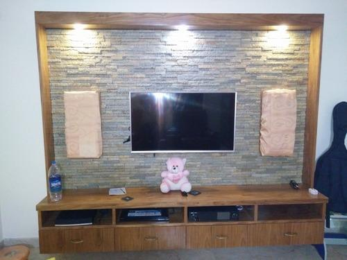 Tv Unit Stone Cladding Domlur Bengaluru S S