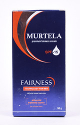 Murtela Fairness Cream For Men & Women (respectively)