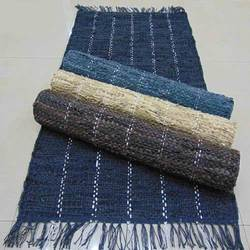 Woven Leather Rugs