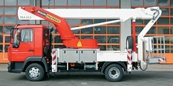 Truck Mounted Platforms for Hire