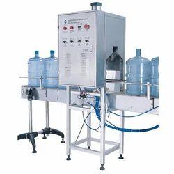 5 Gallon Semi Rinsing Filling Capping Machine