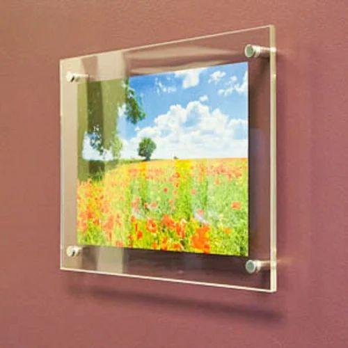 Photo Frames - Wall Mounted Acrylic Photo Frame Manufacturer from Mumbai
