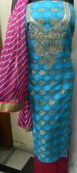 Ladies Zari Kota Gota Patti Suit