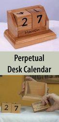 Perpetual Cube Calendar