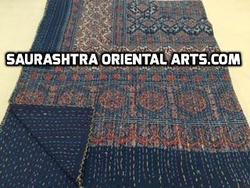 Ajrak Kantha Quilts