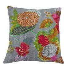 Kantha Tropical Cushion Cover