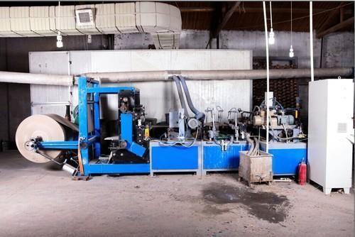 Textile Paper Bobbin Making Machine