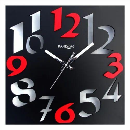 Rectangular Wooden Wall Clocks