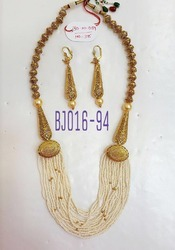 Pearl Antique Mala