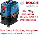 Bosch GAS 15 Professional Wet Dry Vacuum Cleaner