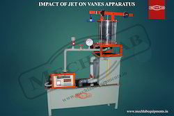 Impact of Jet on Vanes Apparatus
