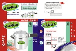 Ganga Outer Lid Pressure Cooker (Marlex Type)