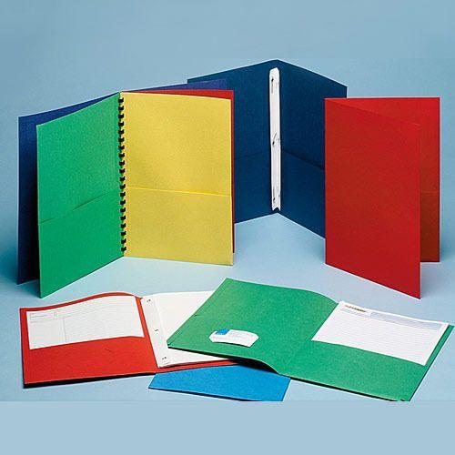 Plastic Files & Folders