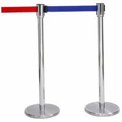 Metal Queue Stand