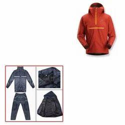 Rain Coats Plastic Zippers for Raincoat