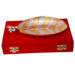 Gold Platted Platter