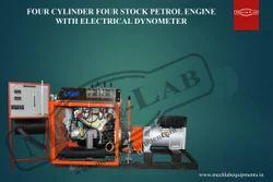 Four Cylinder Petrol Engine Test Rig