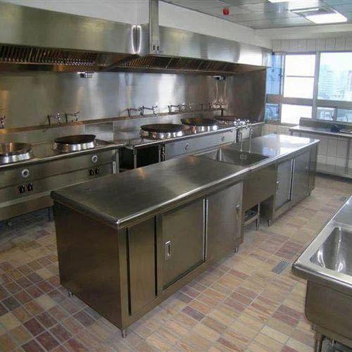 Modular Kitchen Set   Stainless Steel Kitchen Set Manufacturer From Mumbai