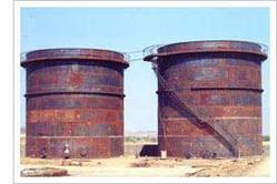 To Construct Storage Tank Jacking System