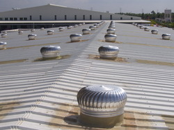 Aluminium Wind Turbine Ventilators