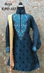 Boys Kurta Pajama With Dupatta
