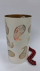 Paisley Candle Holder