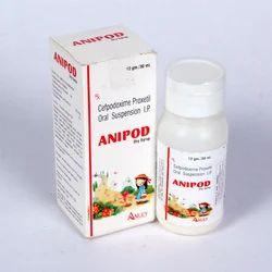 Cefpodoxime Proxetil 50mg / 5m1 Oral Liquids