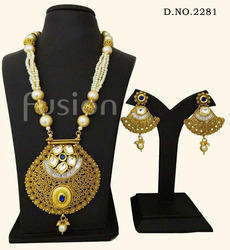 Traditional Kundan Designer Pendant Set