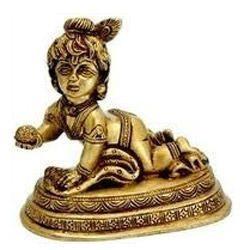 Brass Made Bal-krishna
