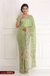 Hand Embroidered Saree Online