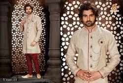 Trendy Heavy Brocade Sherwani