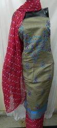 Aaditri Grey Thread Work Suit