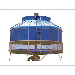 FRP Round Shaped Cooling Towers
