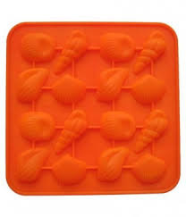 Silicone Shell Shape Chocolate Mould