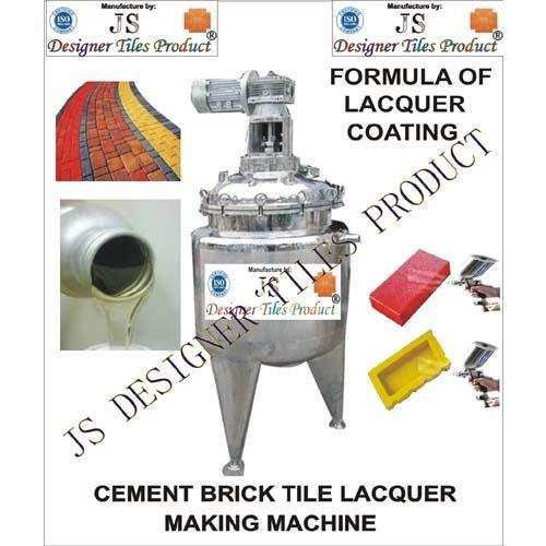 Cement Brick Tile Lacquer Polish Making Machine
