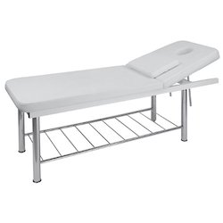 White Massage Bed