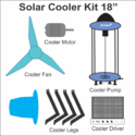 Solar/DC Cooler Kit